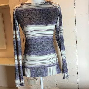 lululemon striped long sleeve top 🍡